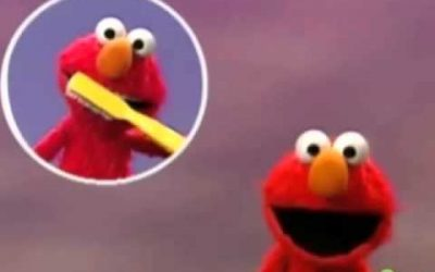 elmo brushing teeth song