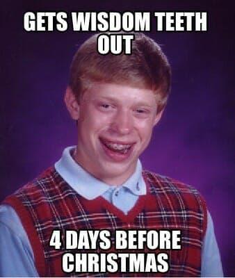 fail kid meme wisdom teeth