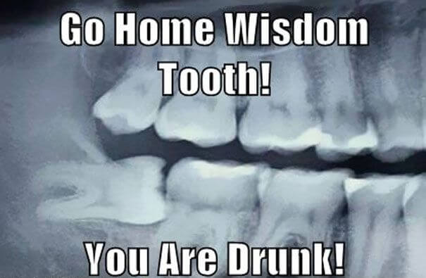 wisdom teeth funny