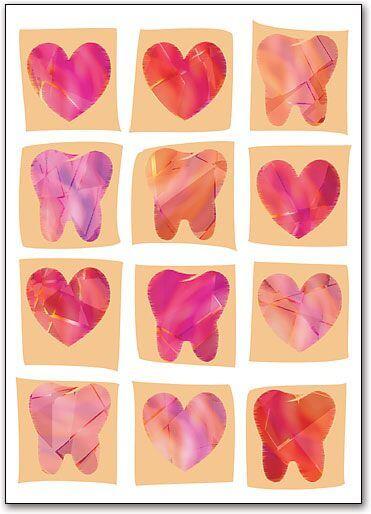 valentine's day teeth