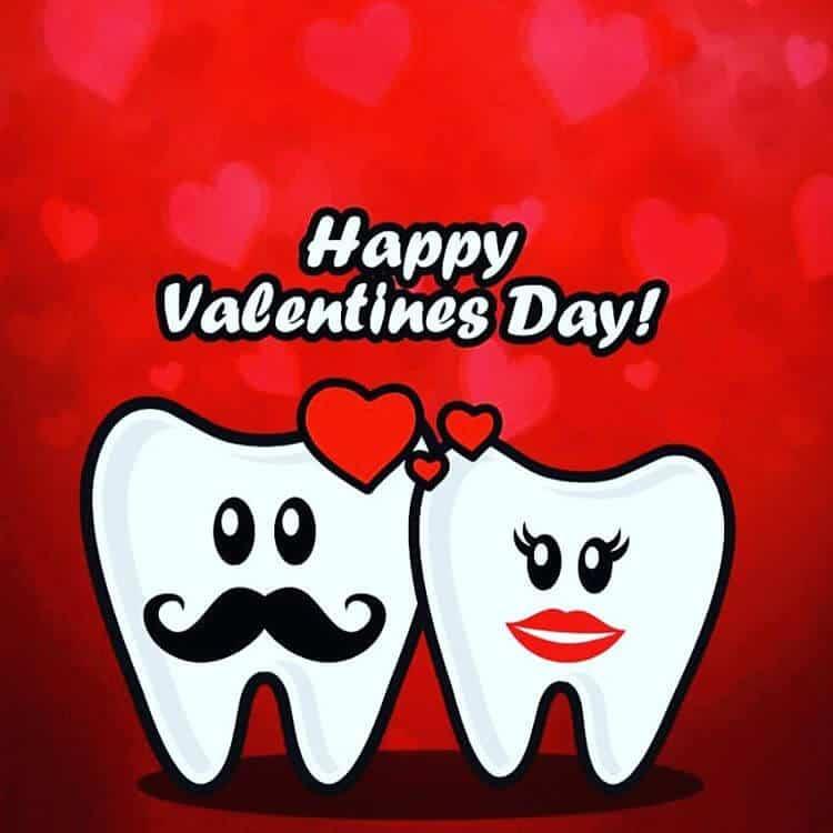 dentist valentines love teeth love dentistry
