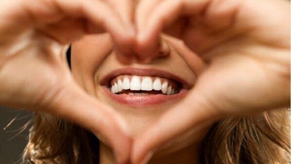 valentines love teeth love heart hands