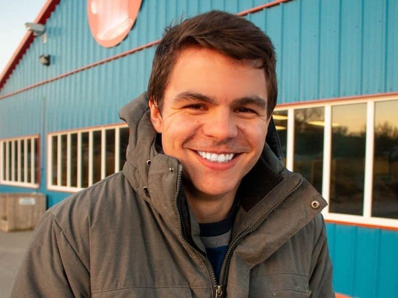 health smiling man